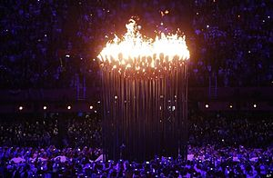 The olympic flame in the london 2012 games.jpg