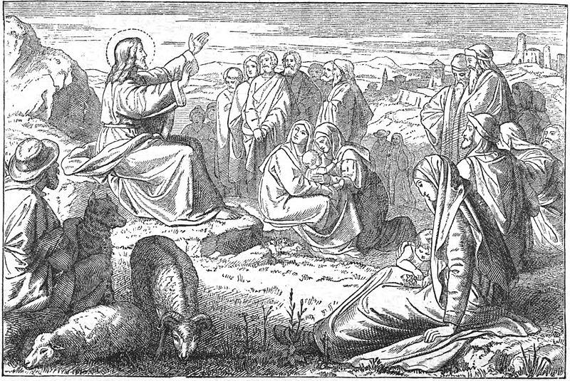 File:The sermon on the mount woodcut.jpg