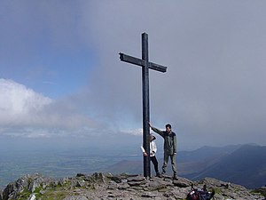 Carrauntoohil - The summit of Carrauntoohil