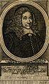 Theodor Henisch. Line engraving by Bartsch, 1677. Wellcome V0002688.jpg