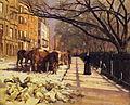 Theodore Robinson - Beacon Street, Boston.JPG