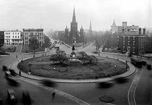 Thomas Circle - Thomas Circle, ca. 1922