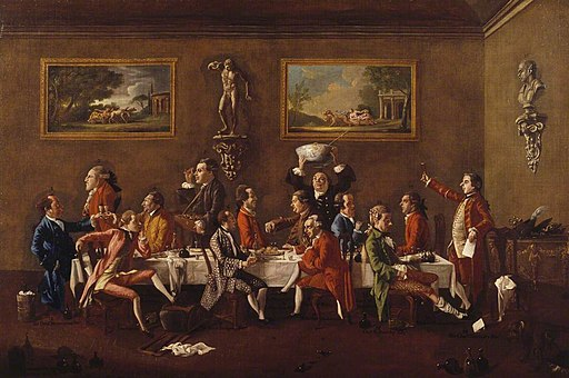 Thomas Patch (1725-1782) - A Punch Party in Florence - 932354 - National Trust