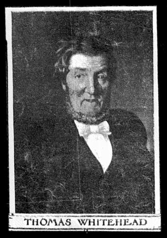 Thomas Whitehead (businessman) - Thomas Whitehead