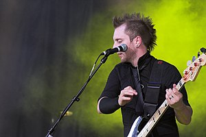 Thousand Foot Krutch - Bassist Joel Bruyere