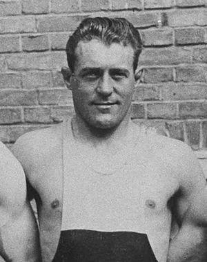 Thure Sjöstedt - Sjöstedt at the 1928 Olympics