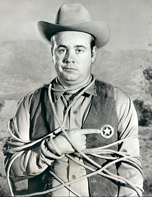 Rango (TV series) - Conway in the program premiere, 1966.