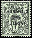 Timbre Wallis et Futuna 1920 - 1 centime.jpg