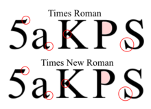 Can you read size 10 Times New Roman font?