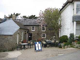 Tinner's Arms - Image: Tinners Arms pub, Zennor geograph.org.uk 783235