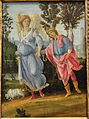 Tobias and the Angel, Filippino Lippi, c. 1475-1480, oil and perhaps tempera on panel - National Gallery of Art, Washington - DSC08861.JPG