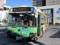 Toei Bus R576 at Kabe Station.jpg