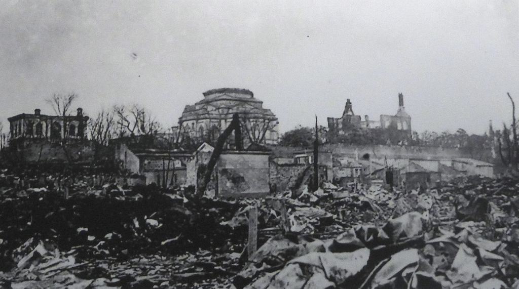 Tokyo Resurrection Cathedral - after 1923 earthquake