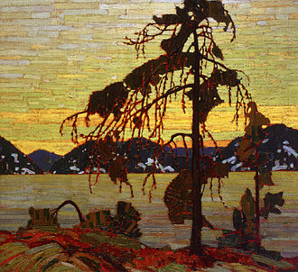 Group of Seven (artists) - The Jack Pine, 1916, by Tom Thomson