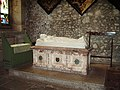 Tomb,The Priory Church of St Mary and St Michael, Cartmel - geograph.org.uk - 447133.jpg