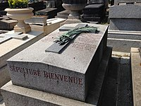 Tombe de Fulgence Bienvenüe - Père Lachaise - 2.JPG