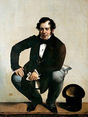 Giuseppe Tominz - Self-portrait