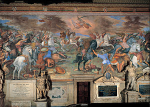 Tommaso Laureti - Battle of Lake Regillus - Google Art Project.jpg