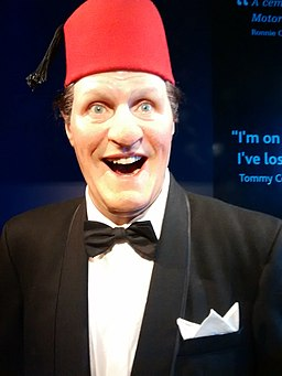 Tommy Cooper Madame Tussauds