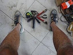 Tools Art(at) the Feet