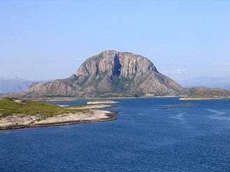 Widerøe Flight 710 - Torghatten, the site of the accident