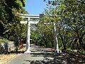 Torii on sando for Okunomiya 8 Shrines in Miyajidake Shrine.JPG