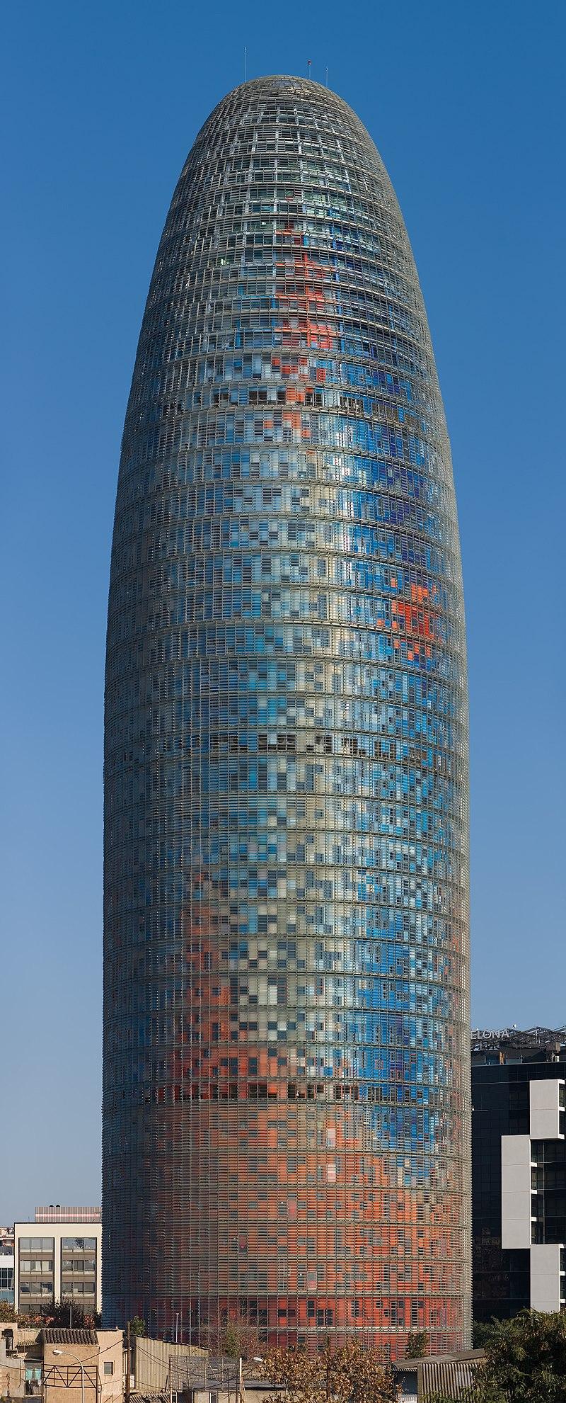 Torre Agbar - Barcelona, Spain - Jan 2007.jpg