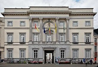 Aalst, Belgium - Image: Town hall of Aalst (DSCF0411)