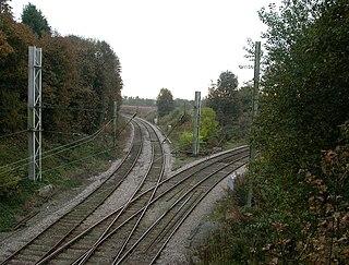 Lowton railway station