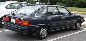 1986 Toyota Camry photographed in USA. Categor...