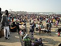 Traders at the fish market in the coast of Gambia....0.jpg