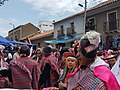 Traditional dancers during the Pulljay festivities in Tarabuco.jpg