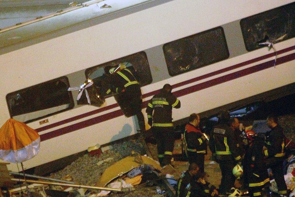 Tragedia en Santiago de Compostela (b)
