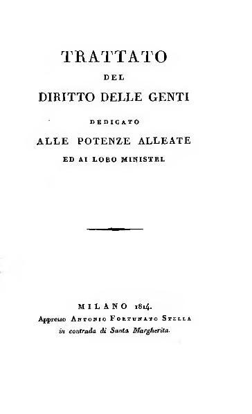 File:Trattato del diritto delle genti 1814.djvu