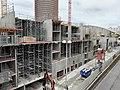 Travaux d'agrandissement du centre commercial côté Rue de Bonnel (Lyon).jpg