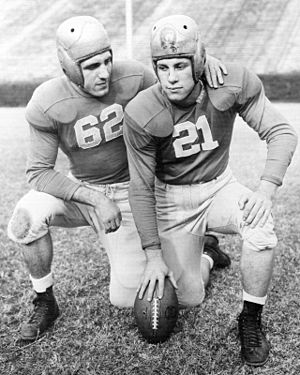 Charley Trippi - Trippi (left) and Georgia teammate Frank Sinkwich