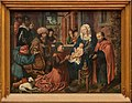 Triptyque de l'Épiphanie Musée Royal des Beaux-Arts-Anvers-panneau central-Epiphanie-Maitre-de-Francfort.jpg