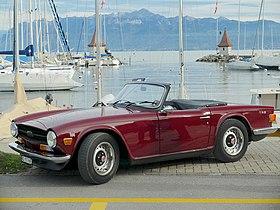 Triumph TR6 — Wikipédia