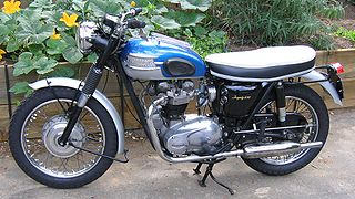 Triumph TR6 Trophy British motorcycle