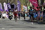 Tsegaye Kebede during 2013 London Marathon.JPG