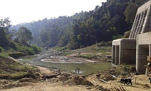 Tuirial Dam - River diversion tunnels