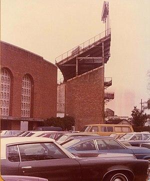 Tulane Stadium - Tulane Stadium Upper Deck
