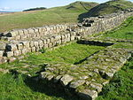 Hadrian's Wall Milecastle and Turrets