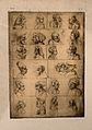 Twenty-four grotesque heads. Photomechanical reproduction af Wellcome V0009435.jpg