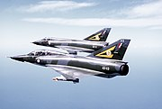 Two Mirage III of the Royal Australian Air Force 1