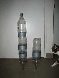 how to make a homemade plastic bottle rocket