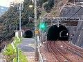 Two tunnels from Jokoji Station.jpg