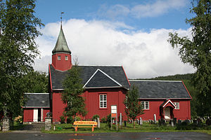 Tydal Church - Image: Tydal Kirke