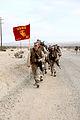 U.S. Marines with Combat Logistics Regiment 2, 2nd Marine Logistics Group, participate in a 4 mile hike during Enhanced Mojave Viper (EMV), on Marine Corps Air Ground Combat Center Twentynine Palms, Calif 120911-M-KS710-075.jpg