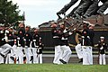 U.S. Marines with the Marine Corps Silent Drill Platoon perform during the Sunset Parade June 5, 2012, at the Marine Corps War Memorial in Arlington, Va 120605-M-KS211-329.jpg